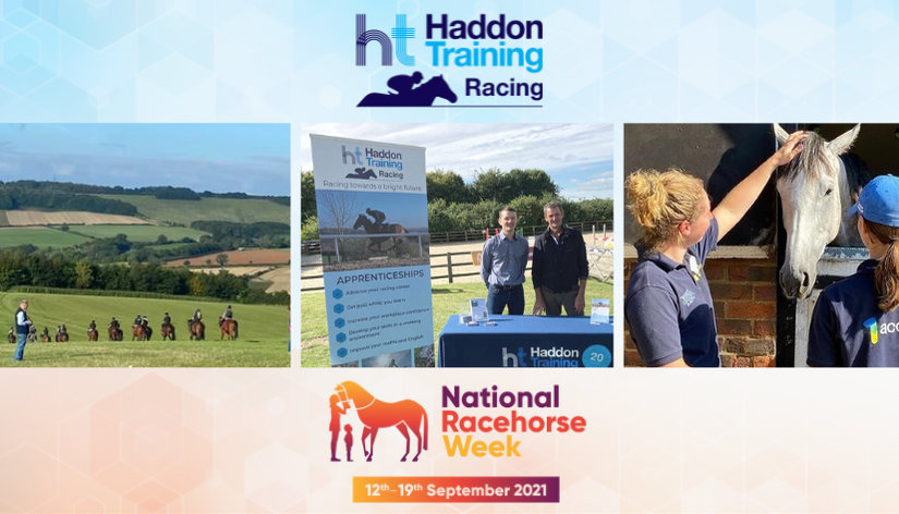 National Racehorse Week - Racing Apprenticeships with Haddon Training